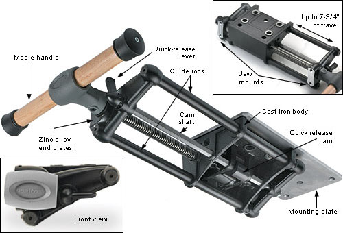 workbench tail vise plans