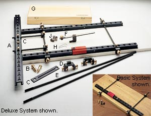 Veritas Tools - Drilling Jigs - System 32 Cabinetmaking System