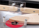 Router Table Safety Shields