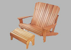 Adirondack Plus Seat or Rocker Plan, or Swing Plan
